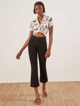 Reformation Cropped Flood Jean