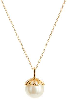Kate Spade Pearlette Crystal Faux Pearl Pendant Necklace