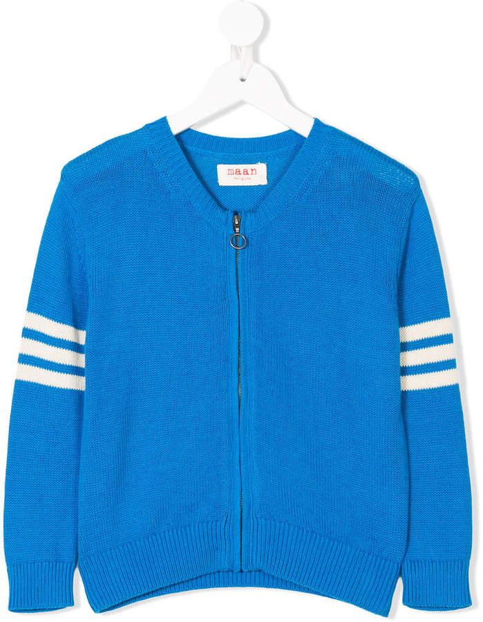 Buy Maan knitted zip sweater!