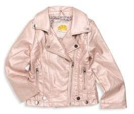 C&C California Little Girl's Metallic Jacket