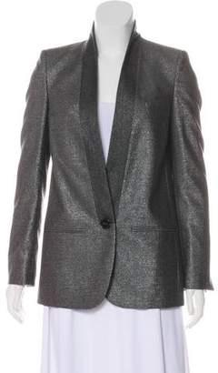 Stella McCartney Metallic Wool Blazer