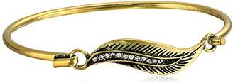 lonna & lilly Classics -Tone Tension Bangle Bracelet