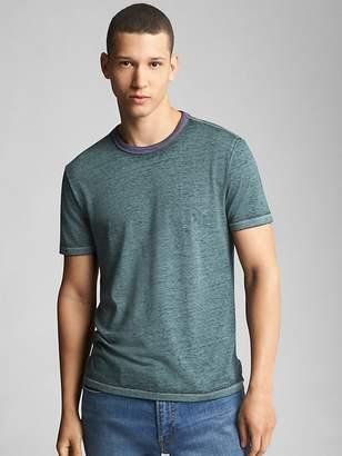 Burnout Short Sleeve Crewneck T-Shirt