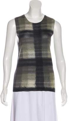 Prada Tie-Dye Sleeveless Top