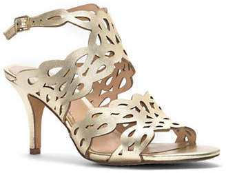 Vince Camuto Strappy Cutout Leather Sandals
