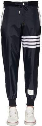 Thom Browne Stripes Lightweight Nylon Track Pants