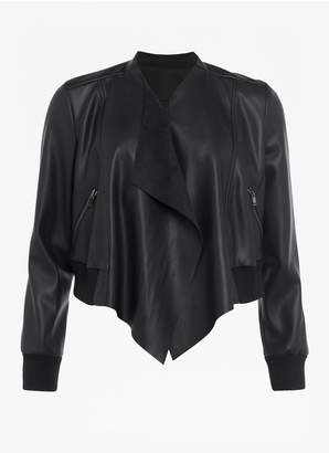 French Connection Abellana Faux Leather Jacket