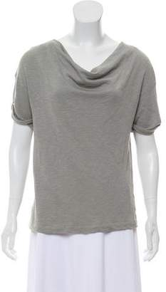 James Perse Short Sleeve Knit Top