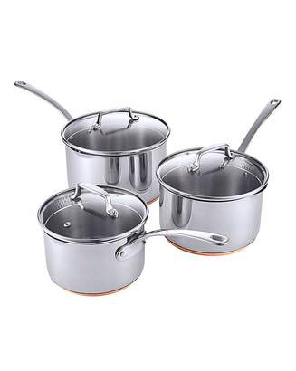 Chef's Collection Copper Bottom Pan Set