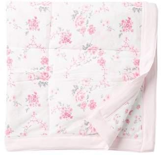 Little Me Bountiful Roses Blanket