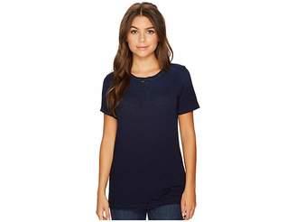 AG Adriano Goldschmied Gray Boy T-Shirt Women's T Shirt