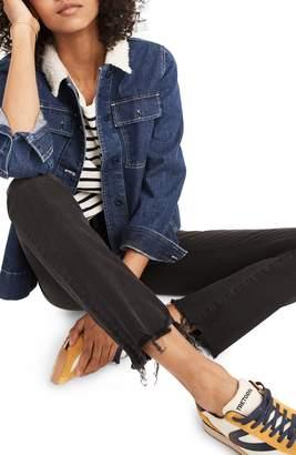 Madewell Cali Chewed Hem Demi Bootcut Jeans