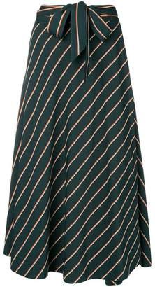 Bellerose striped midi skirt
