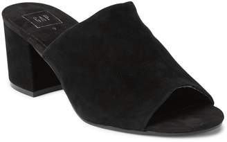 Gap Open-Toe Block Heel Mules