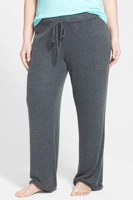 Make + Model 'Best Boyfriend' Brushed Hacci Lounge Pants (Plus Size)