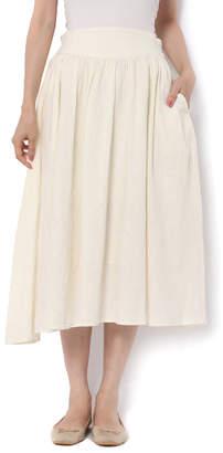 SM2 (サマンサ モスモス) - サマンサモスモス 綿麻サイドボタンギャザースカート