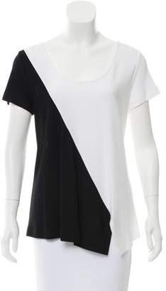 Derek Lam Asymmetrical Colorblock T-Shirt