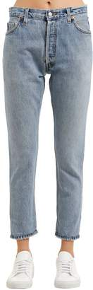 RE/DONE Re Done High Rise Ankle Vintage Denim Jeans