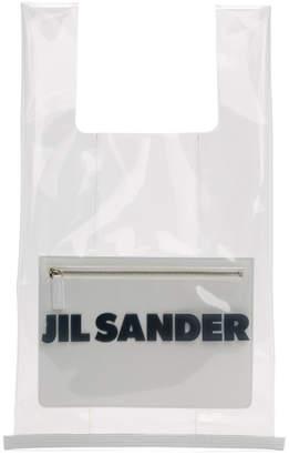 Jil Sander SSENSE Exclusive Transparent Pouch Tote