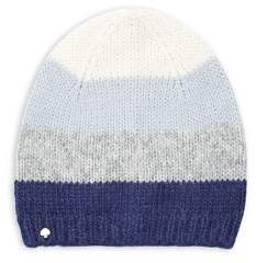 Kate Spade Brushed Colorblock Beanie