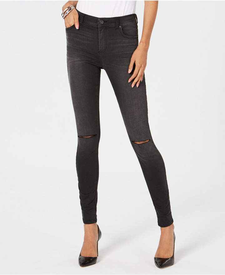 I.n.c. Ripped High-Rise Skinny Jeans, Created for Macy's