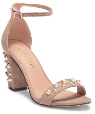Madden-Girl Bitsyy Embellished Ankle Strap Sandal