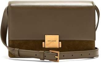 Saint Laurent Bellechasse medium leather and suede bag