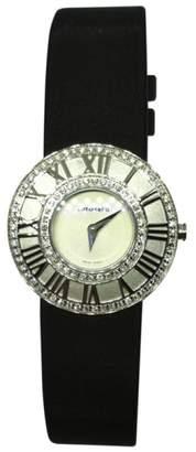 Tiffany & Co. Atlas 18K White Gold & Diamond 27mm Womens Watch