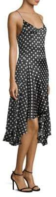 Caroline Constas Marie Polka Dot Dress