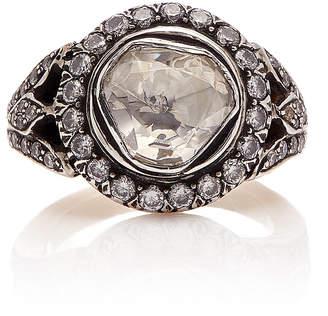 Sanjay Kasliwal 14K Gold Silver And Diamond Ring