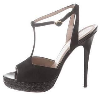 336f926cf3b Ysl T Strap Platform Sandals - ShopStyle