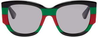 Gucci Black Sylvie Acetate Sunglasses