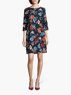 Betty Barclay Floral Print Dress, Purple Light
