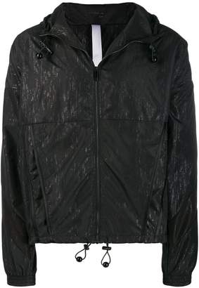 Cottweiler printed hooded track jacket