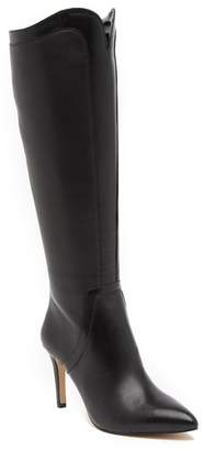 Adrienne Vittadini Nalani Leather Knee-High Boot