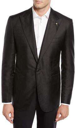 Stefano Ricci Men's Solid Textured Dinner Jacket