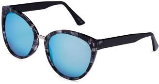 Amalfi by Rangoni Cake Eyewear 55MM Butterfly Sunglasses