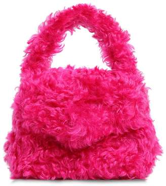 Moschino Mohair Top Handle Bag