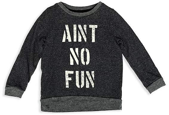 Boys' Aint No Fun Sweater - Little Kid