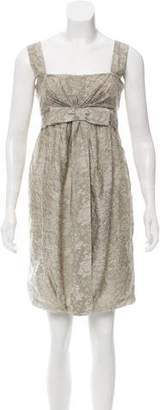 Stella McCartney Sleeveless Brocade Dress