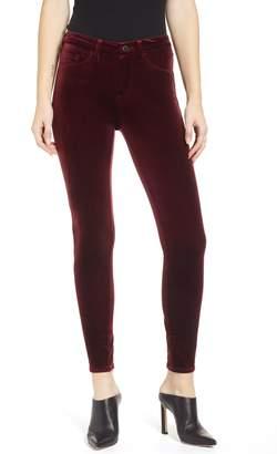 Blank NYC BLANKNYC High Waist Velvet Skinny Jeans