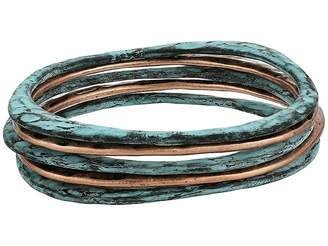M&F Western Copper and Patina Bangle Set