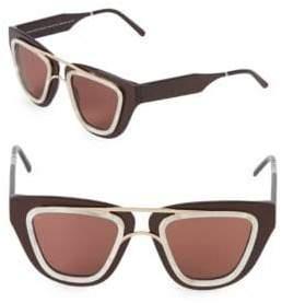 Sodapop IV 48MM Square Oversized Sunglasses