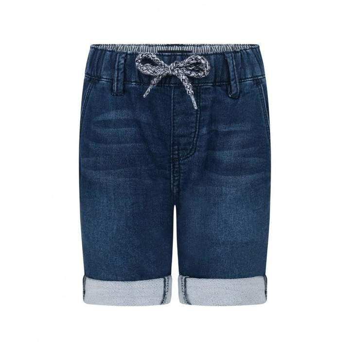 IKKSBoys Blue Denim Stretch Shorts