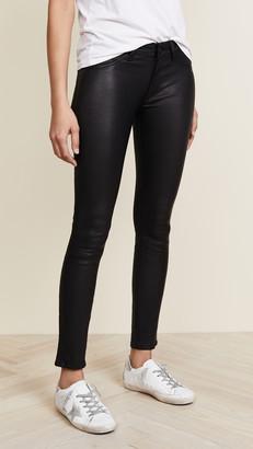 DL1961 Emma Power Legging Leather & Coated Jeans