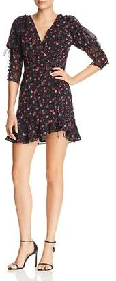 For Love & Lemons Rosie Floral Mini Dress