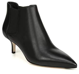 Via Spiga Maeve Leather Kitten Heel Ankle Boot