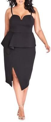 City Chic Screen Siren Dress