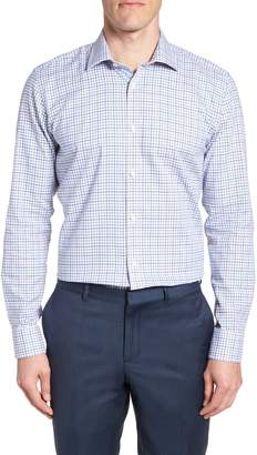 Ted Baker Welsh Trim Fit Check Dress Shirt
