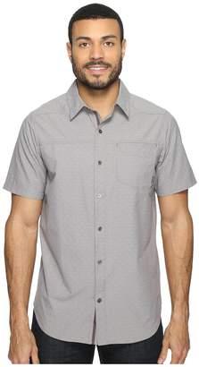 Columbia Pilsner Peak Print Short Sleeve Short Men's Short Sleeve Button Up